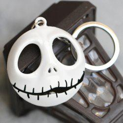 Stylish Movie Silent Night Jack Skull Keyring -