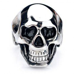 Characteristic Skull Stainless Steel Ring For Men