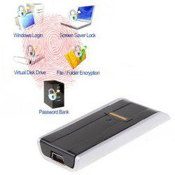 Biometric USB Fingerprint Reader Security Computer Password Lock for Identification -