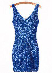 Bodycon Cocktail Short Sparkly Dress -