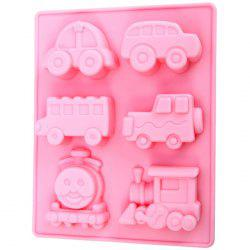 Silicone Train Design DIY Baking Mold Cake / Biscuit Manual Tool