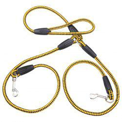 Dog Harness Durable Nylon Double-ended Leash 130cm