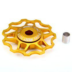 AEST - 14 Bicycle Double-shaft 11T Rear Derailleur Pulley for Bicycle Cycling