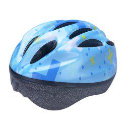 Comfortable and Safety EPS + PVC Integrally Molded Cycling Helmet for Kids ( 10 Vents ) -
