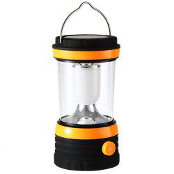 YU HAO RY - T96 24 LED Whiter Light Lampe à lampe de camping rechargeable à accumulation solaire - Orange