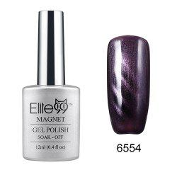 Elite99 Cat Eye 3D Magical Gel Polish Soak Off UV LED Nail Art  Manicure Salon12ml - PEARL PURPLE BROWN