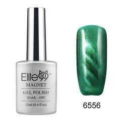 Elite99 Cat Eye 3D Magical Gel Polish Soak Off UV LED Nail Art  Manicure Salon12ml - GREEN