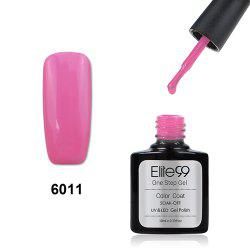 Elite99 One Step Gel Polish 3 In 1 UV LED No Need Base Top Coat  10ml - DEEP PINK