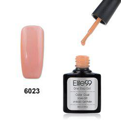 Elite99 One Step Gel Polish 3 In 1 UV LED No Need Base Top Coat  10ml - NUDE