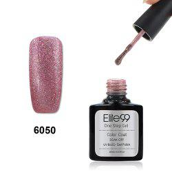 Elite99 3 in 1 Soak Off One Step Gel Polish No Need Base Top Coat UV LED Lamp - PEARL ROSE GOLD