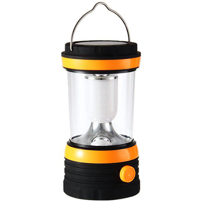 YU HAO RY – T96 24 LED Whiter Light Solar-powered Rechargeable Camping Lamp LanternHOME<br><br>Color: ORANGE; Best Use: Fishing,Camping,Hiking,Travel,Emergency; Power Source: AG10;