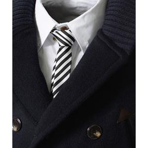 Knitted Lapel PU Leather Spliced Multi-Button Slimming Long Sleeves Men's Woolen Blend Thicken Peacoat - CADETBLUE L