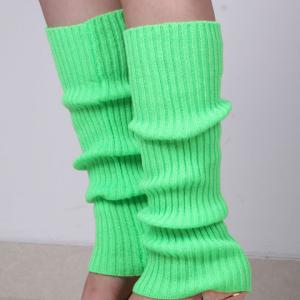 Pair of Chic Candy Color Knitted Leg Warmers For Women - COLOR ASSORTED