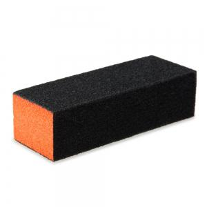 Professional Silicon Carbide Abrasive Drywall Sponge Sanding Pad Black There Sides Sanding Sponge Use to Polish The Crystal Nail -