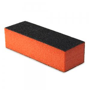 Professional Silicon Carbide Abrasive Drywall Sponge Sanding Pad Black There Sides Sanding Sponge Use to Polish The Crystal Nail - Colormix - S