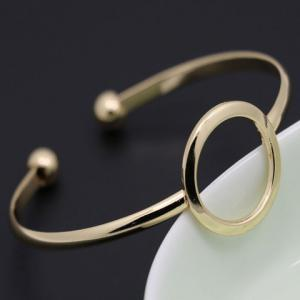 Hollow Out Round Cuff Bracelet -