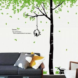 DIY Fresh Big Tree Pattern Home Decoration Decorative Wall Stickers -