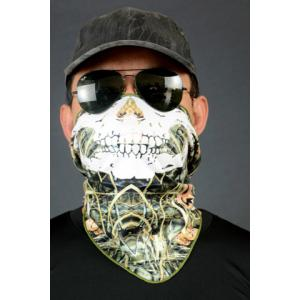 Bionic Jungle Outdoor Protective Masked Arm Sun Hat - RANDOM COLOR PATTERN