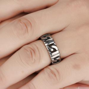 Punk Style Stainless Steel Ring -
