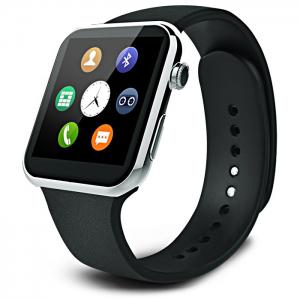 A9 Bluetooth 4.0 Smart Watch with Heart Rate Monitor Sport Tracker - Silver