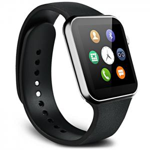 A9 Bluetooth 4.0 Smart Watch with Heart Rate Monitor Sport Tracker - BLACK
