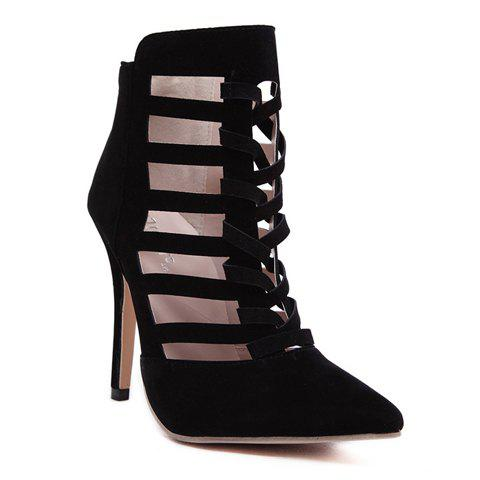 Cheap Sexy Hollow Out and Weaving Design Women's Pumps