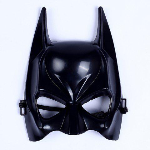Half Face Batman Shape Plastic Party Mask 148962301