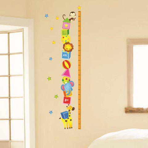 Trendy New Simple Cartoon Home Decoration Height Stickers