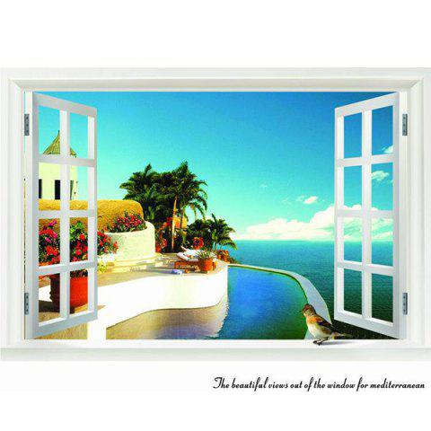 Buy Chic Elegant Landscape Pattern Home Decoration Decorative Wall Stickers