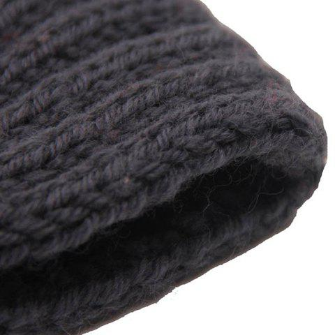 New Chic Solid Color Stripy Knitted Headband For Women - COLOR ASSORTED  Mobile
