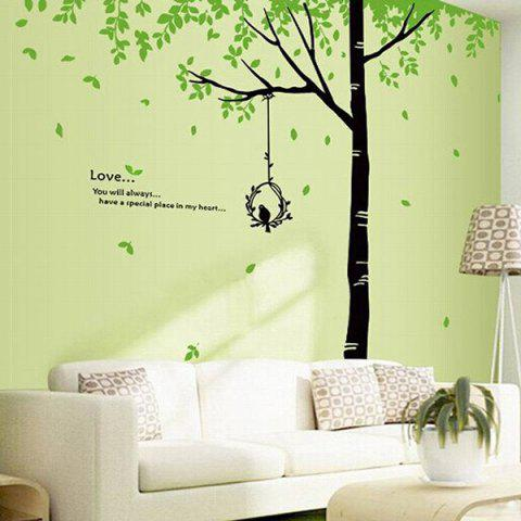 Outfit DIY Fresh Big Tree Pattern Home Decoration Decorative Wall Stickers