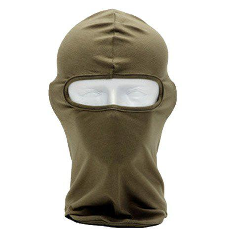 Fancy Stylish Multifunctional Cycling Outdoor Protective Masked Hat For Men and Women - COLOR ASSORTED  Mobile