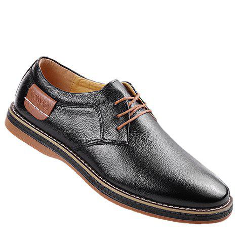 Latest Simple Style Round Toe and Solid Color Design Men's Formal Shoes