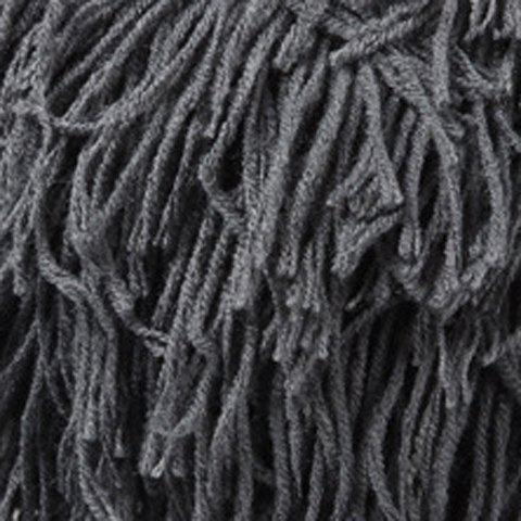 Hot Woolen Yarn Imitated Wig Knitted Beard Face Hat For Men and Women - BLACK  Mobile