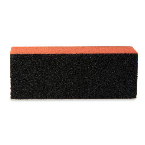 Latest Professional Silicon Carbide Abrasive Drywall Sponge Sanding Pad Black There Sides Sanding Sponge Use to Polish The Crystal Nail -   Mobile