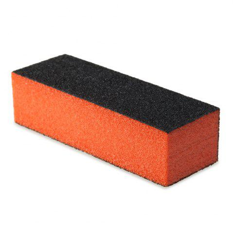 New Professional Silicon Carbide Abrasive Drywall Sponge Sanding Pad Black There Sides Sanding Sponge Use to Polish The Crystal Nail -   Mobile