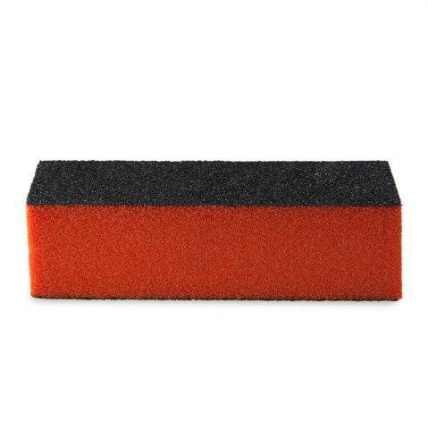 Outfits Professional Silicon Carbide Abrasive Drywall Sponge Sanding Pad Black There Sides Sanding Sponge Use to Polish The Crystal Nail -   Mobile