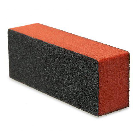 Trendy Professional Silicon Carbide Abrasive Drywall Sponge Sanding Pad Black There Sides Sanding Sponge Use to Polish The Crystal Nail -   Mobile