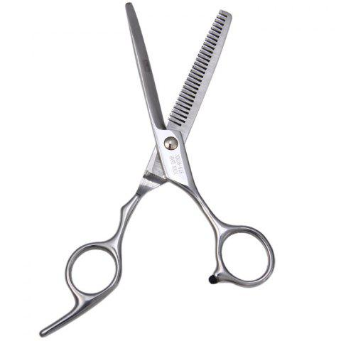 Affordable Professional Stainless Steel Grooming Hair Thinning Scissors SILVER TEETH SCISSOR