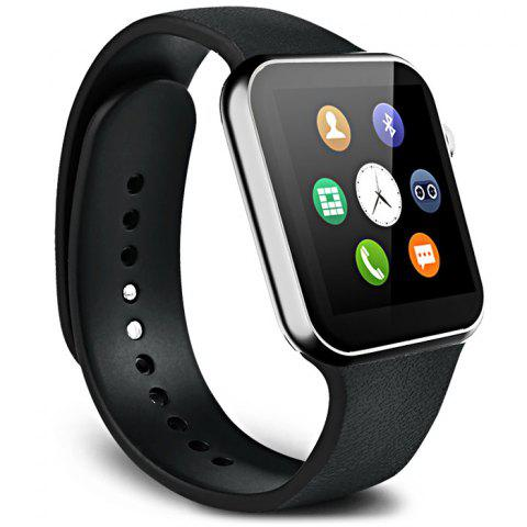 New A9 Bluetooth 4.0 Smart Watch with Heart Rate Monitor Sport Tracker - BLACK  Mobile