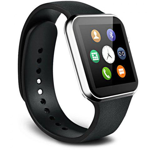 Latest A9 Bluetooth 4.0 Smart Watch with Heart Rate Monitor Sport Tracker - SILVER  Mobile