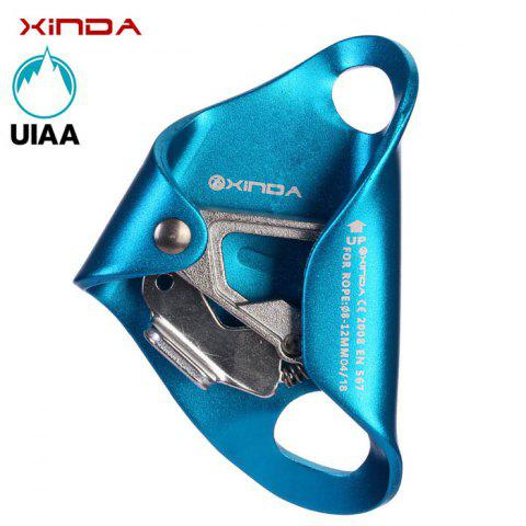 Fancy XINDA Thoracic Sessile Ascender Outdoor Rock Climbing Mountaineering Equipment Caving Protector - BLUE  Mobile