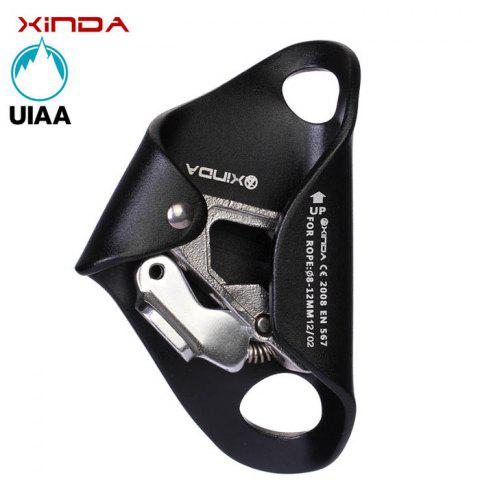 Latest XINDA Thoracic Sessile Ascender Outdoor Rock Climbing Mountaineering Equipment Caving Protector - BLUE  Mobile
