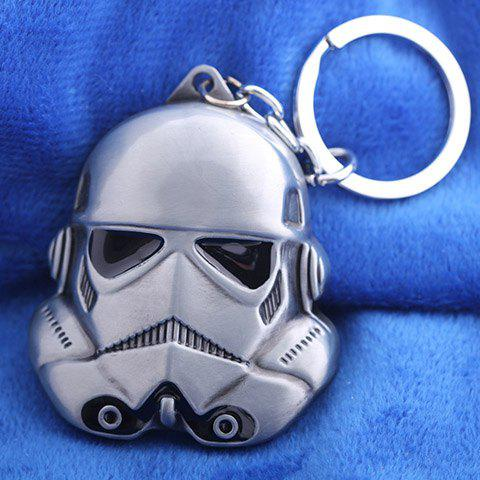 Unique Star Wars Stromtrooper and Black Knight Keyring