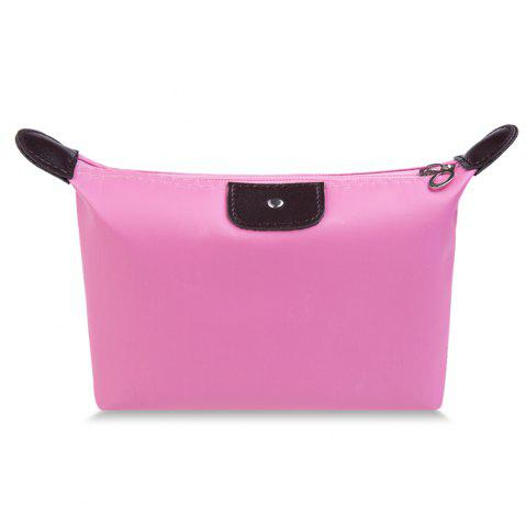Fancy Candy Color Waterproof Zippered Cosmetic Makeup Bag
