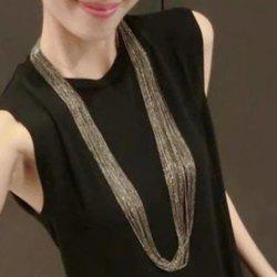 Punk Layered Chain Necklace -