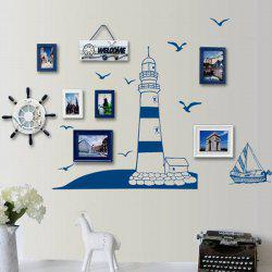 Stylish Creative DIY Lighthouse Pattern Home Decoration Decorative Wall Stickers -