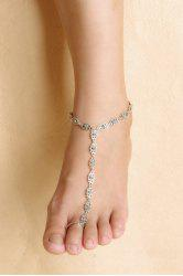 Vintage Flower Hollow Out Anklet