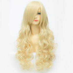 Extra Long Synthetic Shaggy Wavy Charming Capless Inclined Bang Trendy Anime Cosplay Wig
