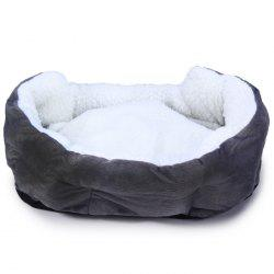 Comfortable Cashmere Pet Bed Cats Dogs Small Animals House Cushion